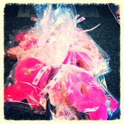 Pink Ribbon Cookies