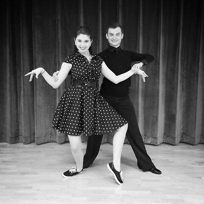 Zhenya Klyukin, Allie Powers, Swing, Ballroom Dance Couple