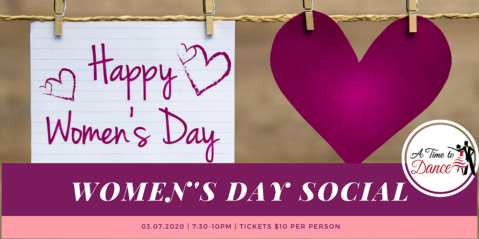 Women's Day Dance Social
