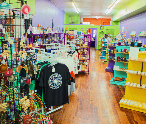 Inside our shop in Bartow, Florida