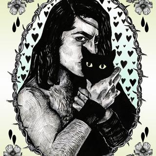 Danzig With Cat