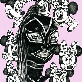 Minnie Mouse Dominatrix