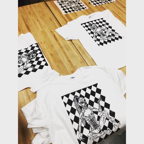 Screenprinted T-shirts