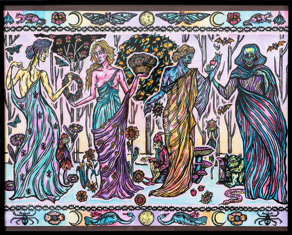 Four Seasons (Maiden, Mother, Crone, Death)
