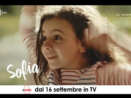 Giovanna la protagonista di 8 spot nazionali di Nutella