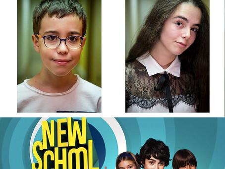 """Domiziana e Francesco nella serie """"New School"""""""