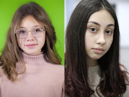 """Annagiulia e Celeste partecipano alle riprese della serie TV """"Halloweird"""""""