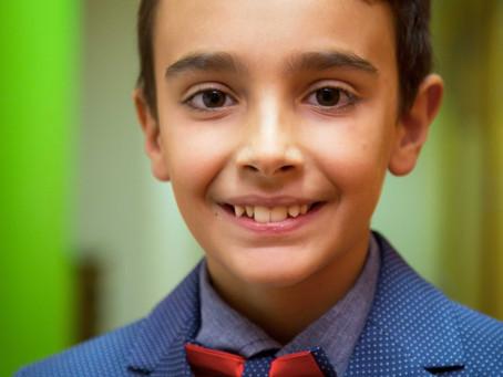 """Edoardo sul set di """"Mi Chiamo Mohamed"""" di Goran Paskaljevic, prodotto da Colorado Film"""
