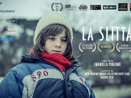 "Riccardo nel film ""La Slitta"""