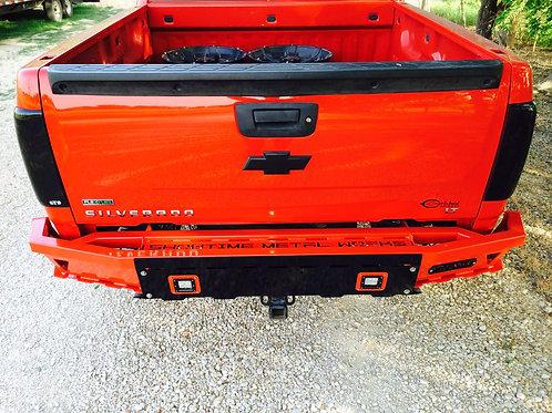 2007 - 2013 Chevy Silverado 1500 Rear Bumper
