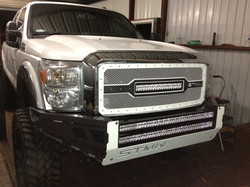 11-14 Ford F250 STMW LED Grill