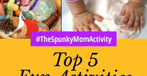 TOP 5 FUN ACTIVITIES AT HOME FOR BABIES