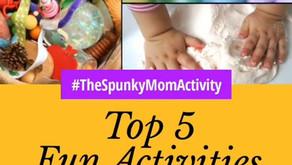 TOP 5 FUN ACTIVITIES AT HOME FOR BABIES