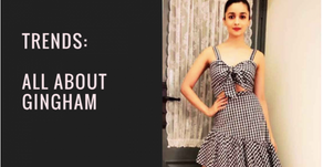 Trend Alert: All About Gingham