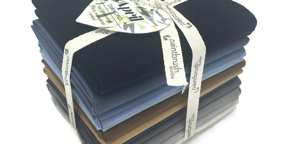April, Diamond Birthstone Fabric Bundle