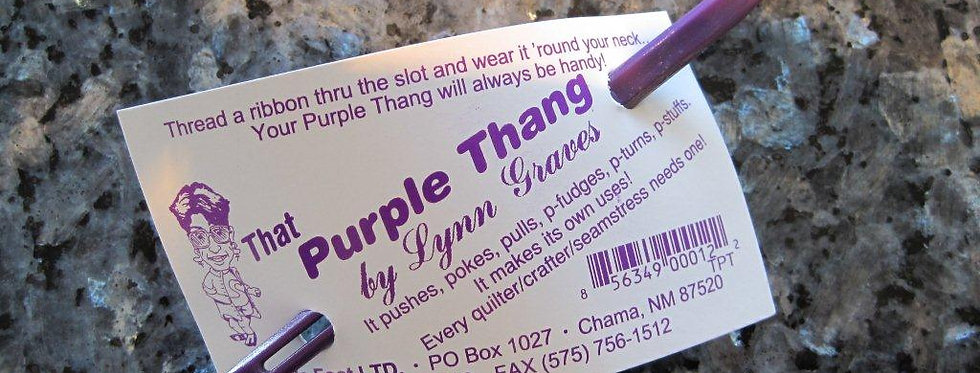 The Purple Thang