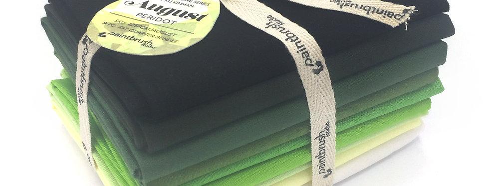 August Peridot Birthstone Fabric Bundle