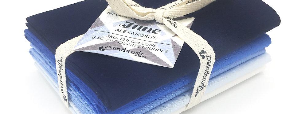 June, Alexandrite Birthstone Fabric Bundle