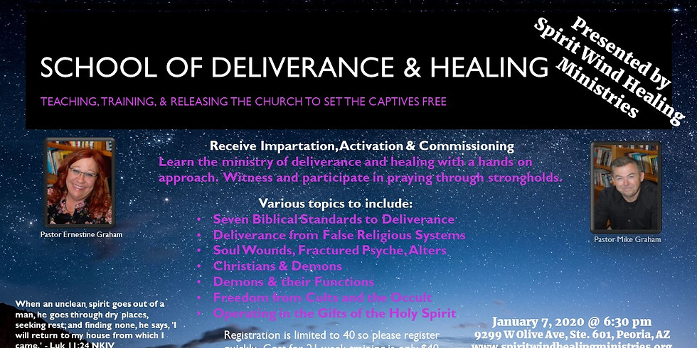 School of Deliverance & Healing