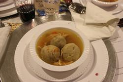Mazta ball soup