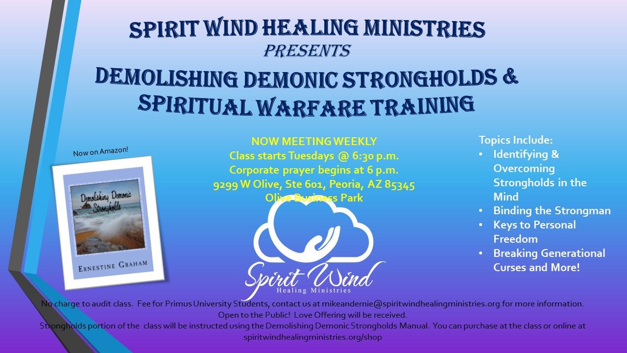 Spiritual warfare class 2019 jpg