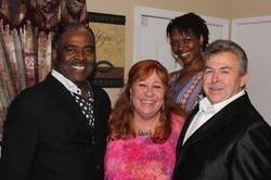 Pastor Lee, Ernie, Mike, Charity