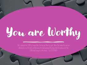 Accomplishments Do Not Define Your Worth