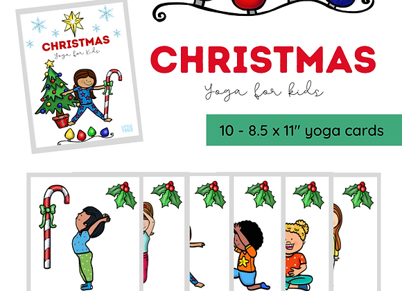 Christmas Yoga Cards