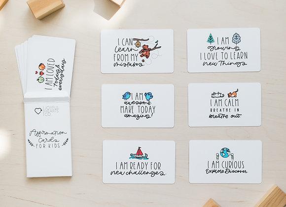 Joyful Hearts Affirmation Cards for Kids