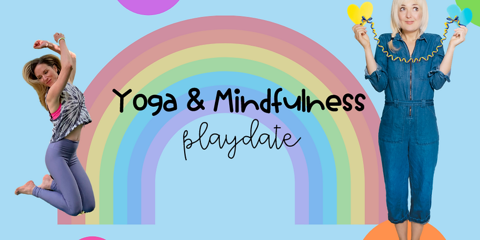 Virtual Yoga & Mindfulness Play-date for Save the Children Canada