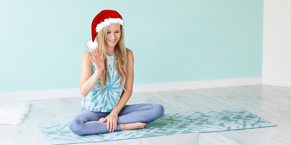 Holiday Yoga for Kids 2.5 - 5 yrs - Dec. 22