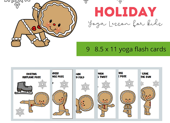 Holiday Kids Yoga with Ginger the Cookie!