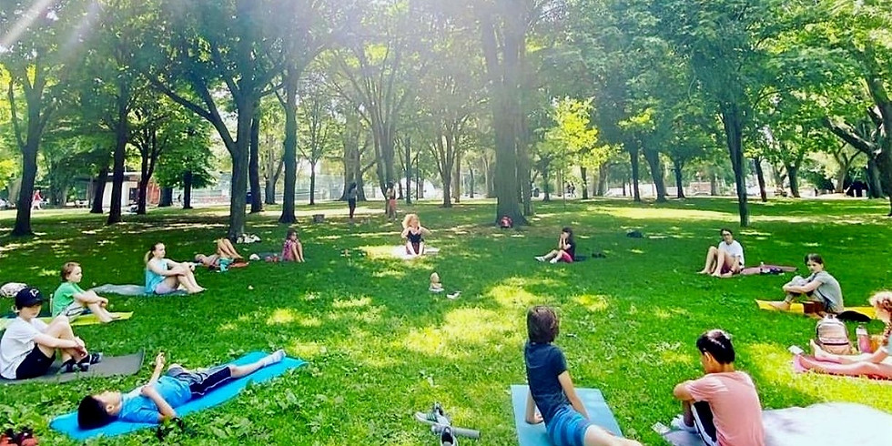Yoga in the Park - July 21