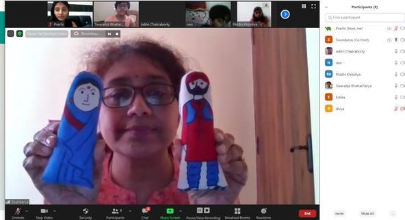 Glimpse from Lakshmi's - Story telling session