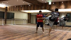 """ファイトフィットネス""""タイフーンクラブ""""練馬でのトレーニング風景"""