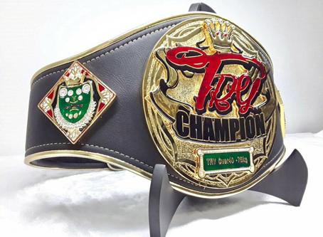 【TRY Over40 -75kg Champion Belt 】