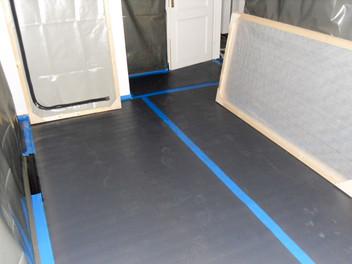 Teerhaltige Dachpappe