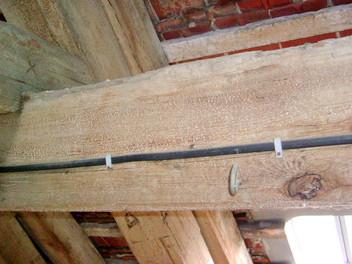 Giftige Holzschutzmittel im Dachgeschoss
