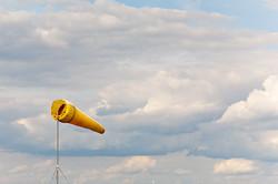 Windsack auf dem Flugplatz Zerbst