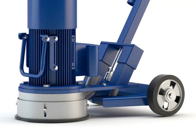 Bodenschleifmaschine Blastrac