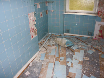 Asbest in der Wohnung!