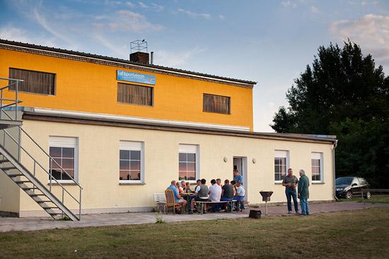 Vereinsheim des LSV-Zerbst