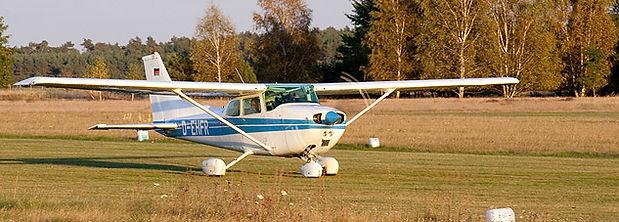 Cessna 172 vom Luftsportverein Zerbst e.V.
