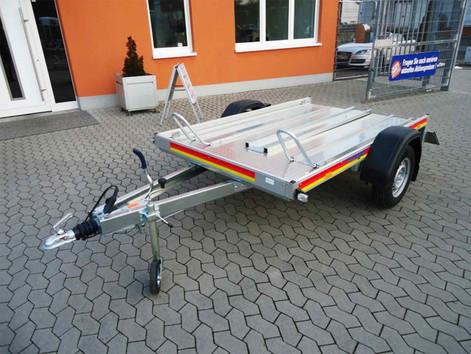 Motorrad-Anhänger,-Tiefladerausführung,-