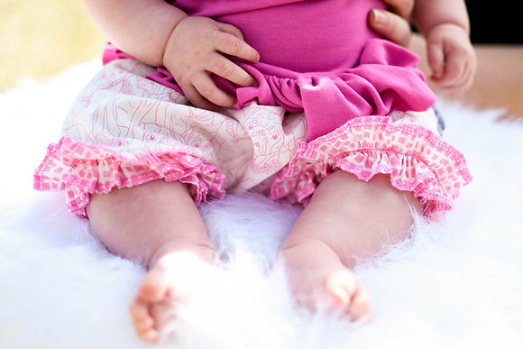 Pink Pug Bloomers