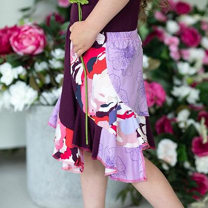 Purple Poppy Twirl Skirt