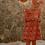 Thumbnail: Red Floral Leggings