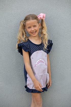 Girl's Shark Dress/Tunic