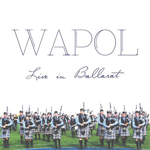 Live In Ballarat CD