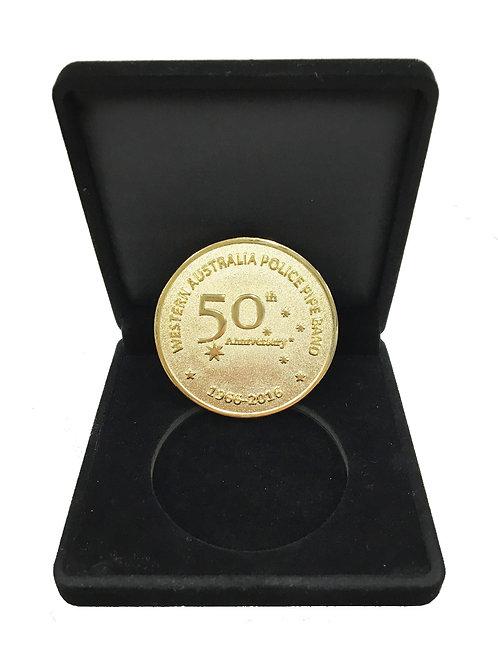 WAPOL 50th Anniversary Commemorative Coin